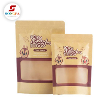 Wholesale custom design packaging pouch paper bag manufacturer with logo print