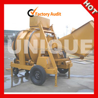 Diesel engine portable mobile concrete mixer 750L