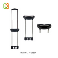 Bag Parts& Accessories Telescopic Luggage Trolley Handle With Button