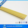 Ceramic Tile Trims Aluminum Movement Joints in gold color, silver color