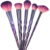 2018 new cosmetic makeup brush ! 12pcs Galaxy Starry Sky color diamond handle custom logo makeup brushes wholesale