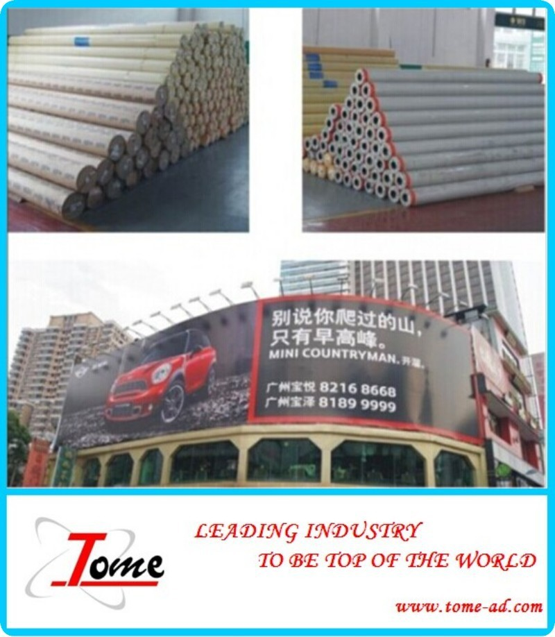 Advertising pvc flex banner, high quality with best price printing materials for outdoor advertising