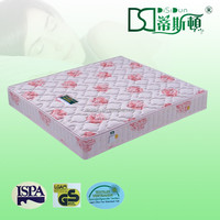 Cotton Fabric Cover White Hollow Fiber Bed Mattress for wholeseles
