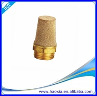 Brass Pneumatic Muffler Air Silencer Low Price