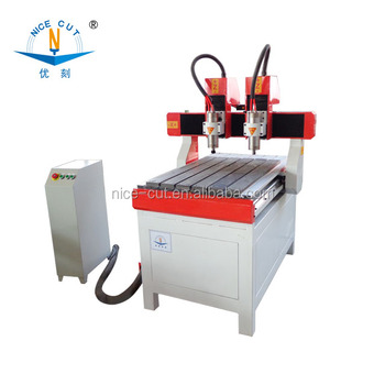 Jinan NC-6090 NC cnc router engraver drilling and milling machine cnc marble,metal,gold engraving with CE,FDA,ISO9001
