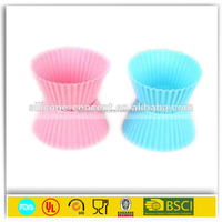 cute good quality baking oven silicone mold food grade cup cake