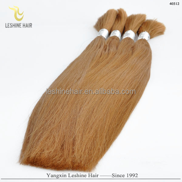 Wholesale Price Top Quality Directly Factory 100% Remy Hair multi-colored braiding hair