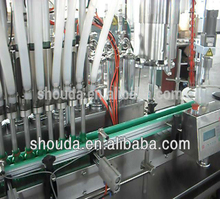 Automatic Small Dose Liquid / essential oil 6 vial bottle filling machine line