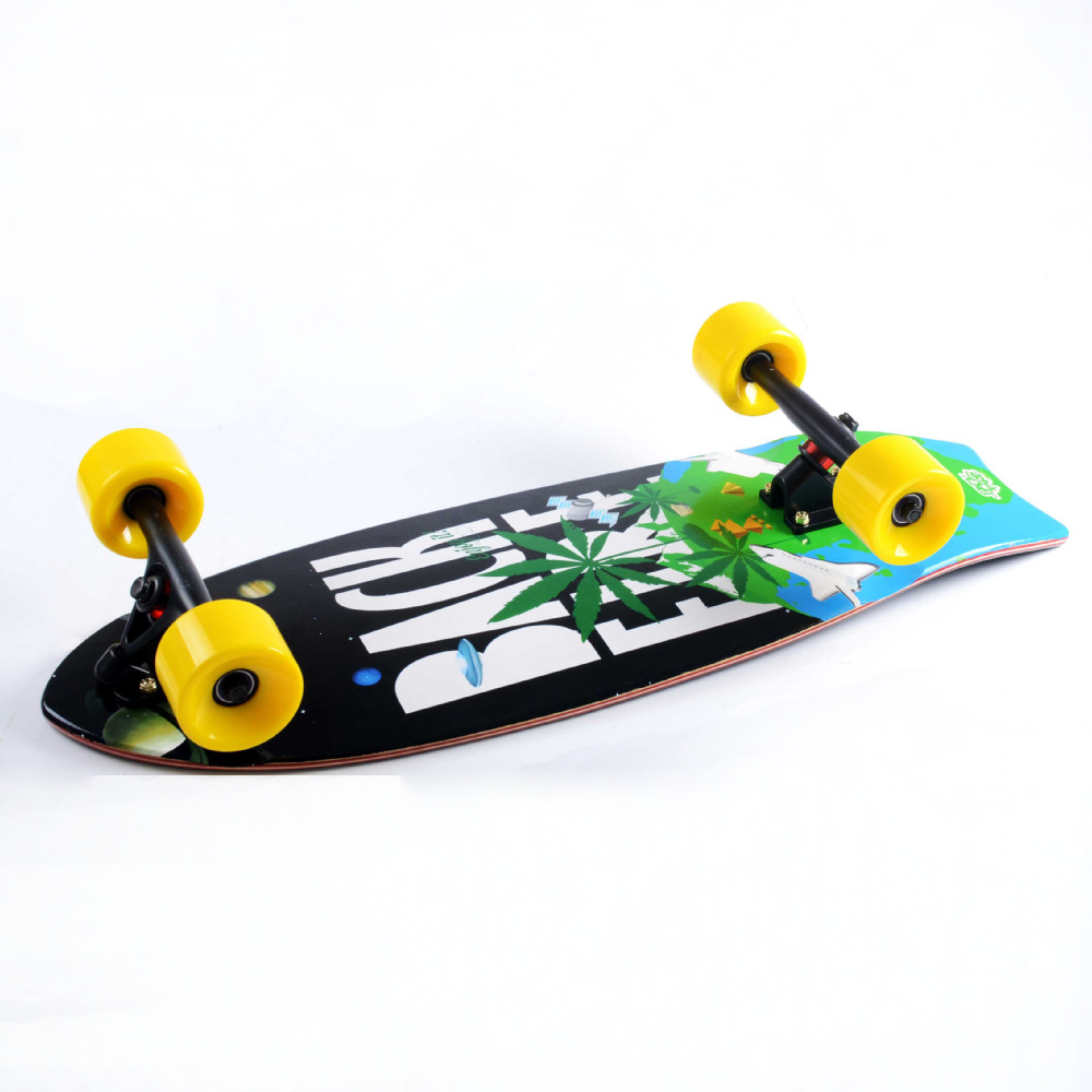 Backfire Longboard complete 30*11.5inch spaceship