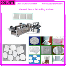 Colunte Square Cosmetic Cotton Pad Making machine