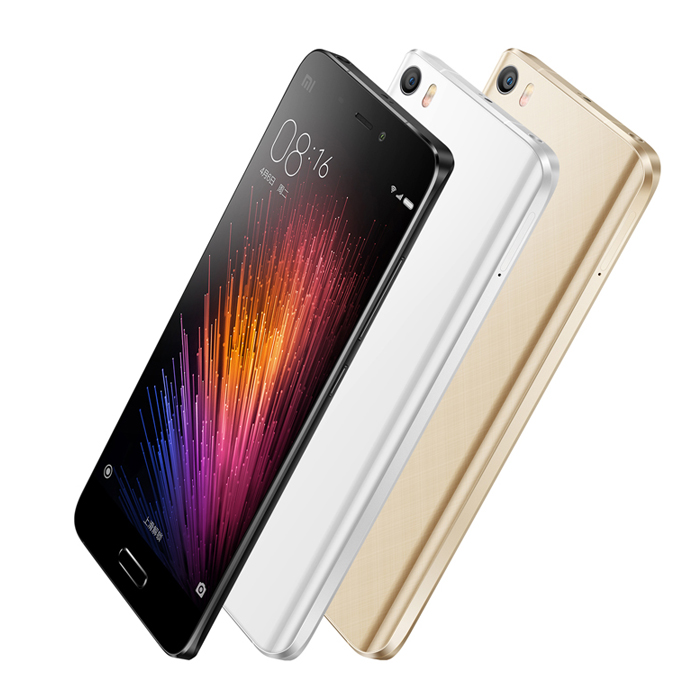 Tele Xiaomi Mi5 Mi 5 Cep Telefon 3GB RAM 32GB ROM Android 6.0 Snapdragon 820 Quad Core 5.15 inch 13MP Mobile Phones