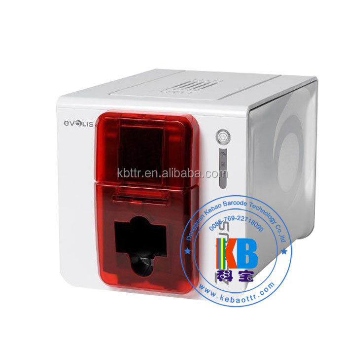 Smart id card printer direct to card single sided Pebble 4 Zenius printer