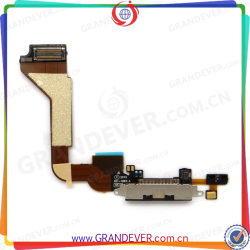 For iphone 4/4s Dock port charging connector flex cable repair alibaba in russian