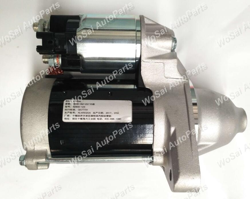 Good performance auto electric dc car starter motor 12V 1.6KW 10T 42800-124