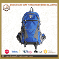 38L Soft Durable Water Resistant Sport Bag Hiking Backpack With Rain Cover