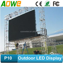 p10 free china video movies www.aoweled.com p10 rgb led display