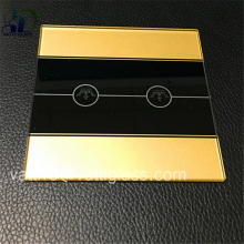 switch panel tempered glass switch plates,hot sale touch switch glass plate
