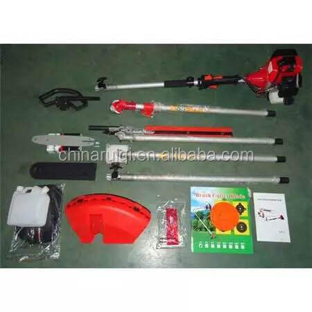 Top Quality 52CC 2.2KW 2 Stroke 4 in 1 Multifunction Gasoline Brush Cutter With CE Certificate