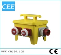 CEE-17 socket outlet ,overloading protection ,industry socket cabinet