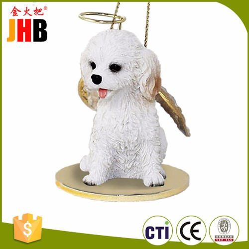 JHB Custom Resin Angel Dog for Wholesale Christmas Decor