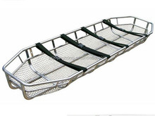medical stainless steel emergency rescue basket stretcher