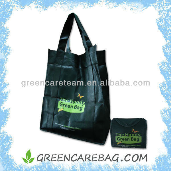 Sublimation Printed RPET Non Woven Foldable Bag