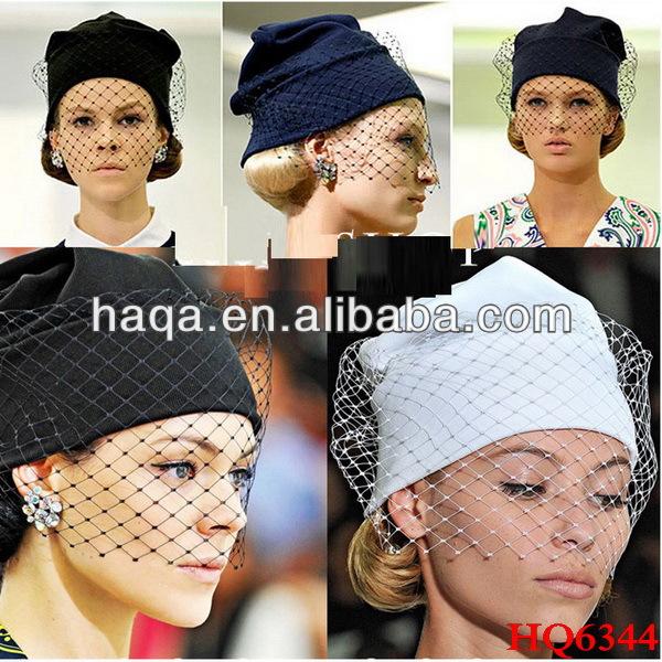 Как сделать своими руками шапку с вуалью 21