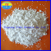 ISO Certificated Low White Aluminum Oxide Powder/White Fused Alumina Powder Price from Jinbo Abrasives