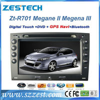 ZESTECH 2 din car dvd with android can-bus car gps for Renault Megane II Megena III gps navigator mp3 player digital TV
