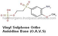 Manufacturer of Vinyl Sulphone Ortho Anisidine Base(O.A.V.S)