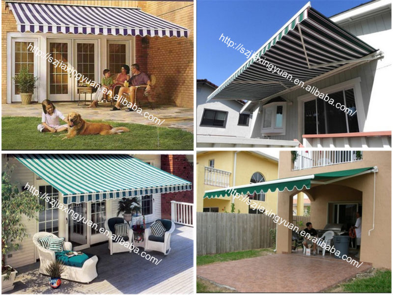 Outdoor Automatic Aluminum Retractable Awning Buy Awning Retractable Awning