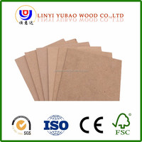 wood factory 12mm Various Thickness MDF With Melamine Finish For Kitchen Cabinet