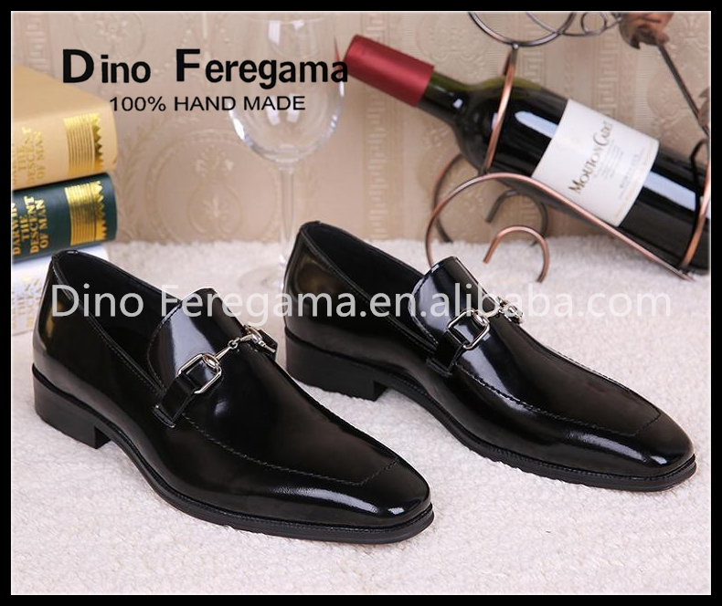 Hand made italian men genuine leather shoes , 2016 new style oxford dress shoes for man