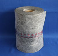 Medium high efficiency filtration non woven fabric for heavy truck
