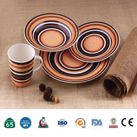 factory direct selling luxury porcelain dinner set