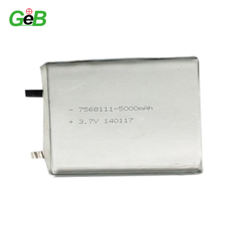 GEB7868111 3.7V 5000mAh Lithium polymer batter/ 5000mah 3.7V lion battery cell