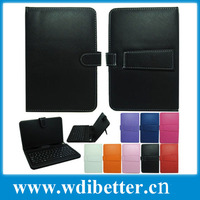 USB Keyboard PU Leather Case for APAD Tablet PC Size 8 inch by 4.5/8 inch Across