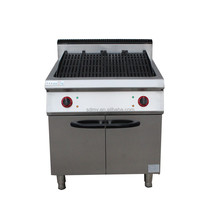 Gas lava stone grill/electric lava stone grill/the lava stone grill with cabinet