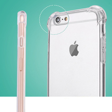 Clear Plastic Case 1.5mm Hard TPU Mobile Phone Case For iPhone 7 7plus