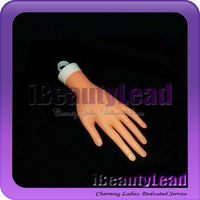 Professional plastic nail training hand artificial hand