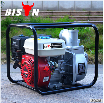 BISON CHINA TaiZhou 3 Inch Portable Agricultural Irrigation Gasoline Water Pumps