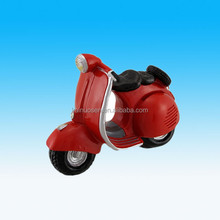 novelty resin motorcycle coin bank piggy bank for kids