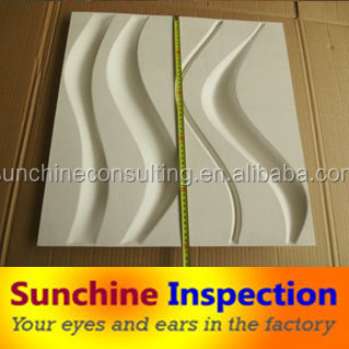 3D paper board furniture Inspection service and quality control in Shenzhen