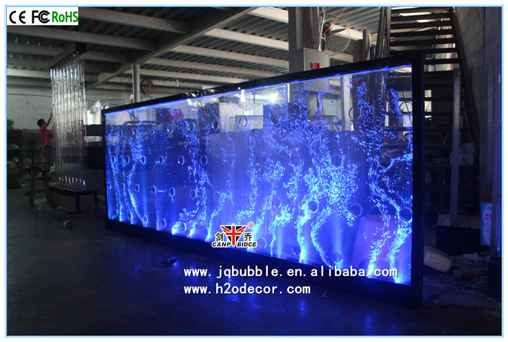 Indoor decoration customized fancy room dividers with dancing water