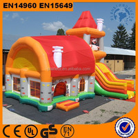 Cheap Outdoor Inflatable Playhouse For Kids