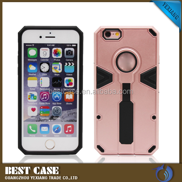 High quality ring-pull rugged TPU+PC case cover for iphone 5c 5S shockproof cover