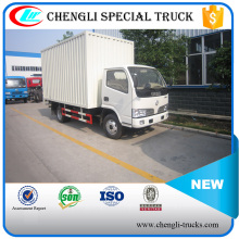 DONGFENG 100hp 4*2 6wheels 15CBM Light Duty Dry Cargo Van Truck