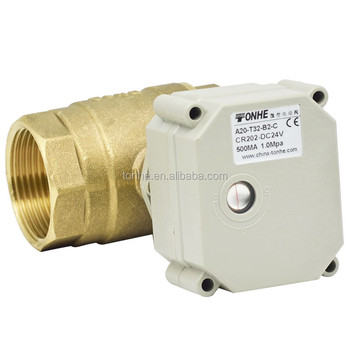 0-5V Modulating Brass Motorized Ball Valve