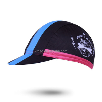 New safety wholesale hat outdoor flexfit cool design face sports bicycle riding cycling cap colorful 3 piece hat
