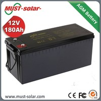 High quality AGM VRLA sealed 24v 100ah deep cycle battery